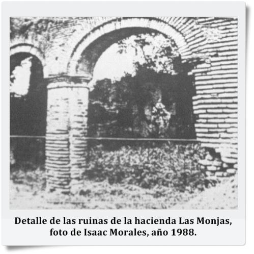 ruinas del convento de clausura de las monjas concepciones